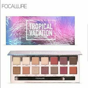 NIB Focallure Tropical Vacation Eyeshadow Palette